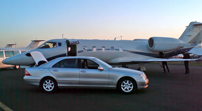 Learjet and S-Class