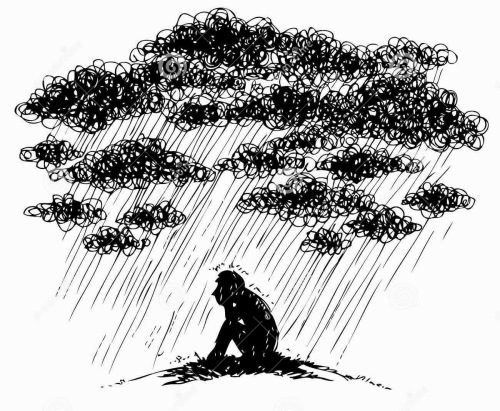 depressionc151c-sketchy-illustration-depression-man-under-stormy-rainy-clouds-concept-sketched-sadness-34499709