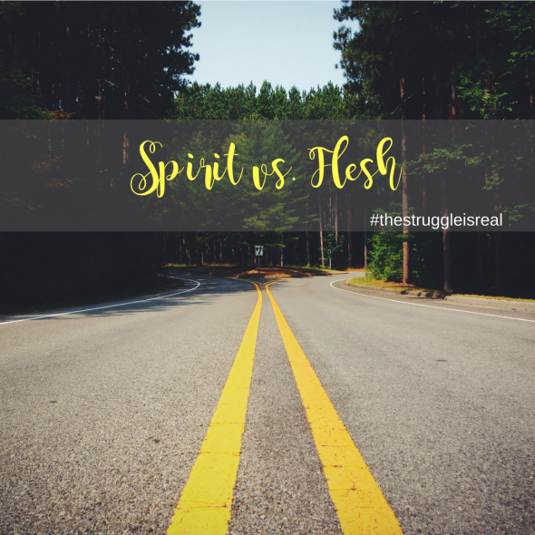Image result for the flesh or the spirit